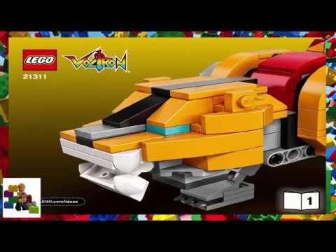 Lego Instructions Ideas 21311 Voltron Book 1 Youtube