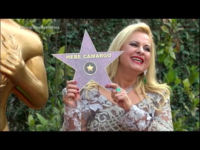 Lilian Gonçalves homenageia ícones da TV brasileira em calçada da fama