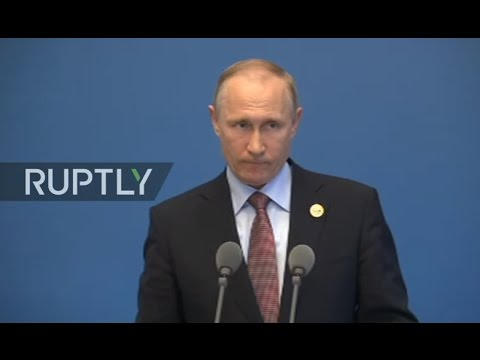 LIVE: Belt and Road Investment Forum gets underway in Beijing: Press conference by Vladimir Putin