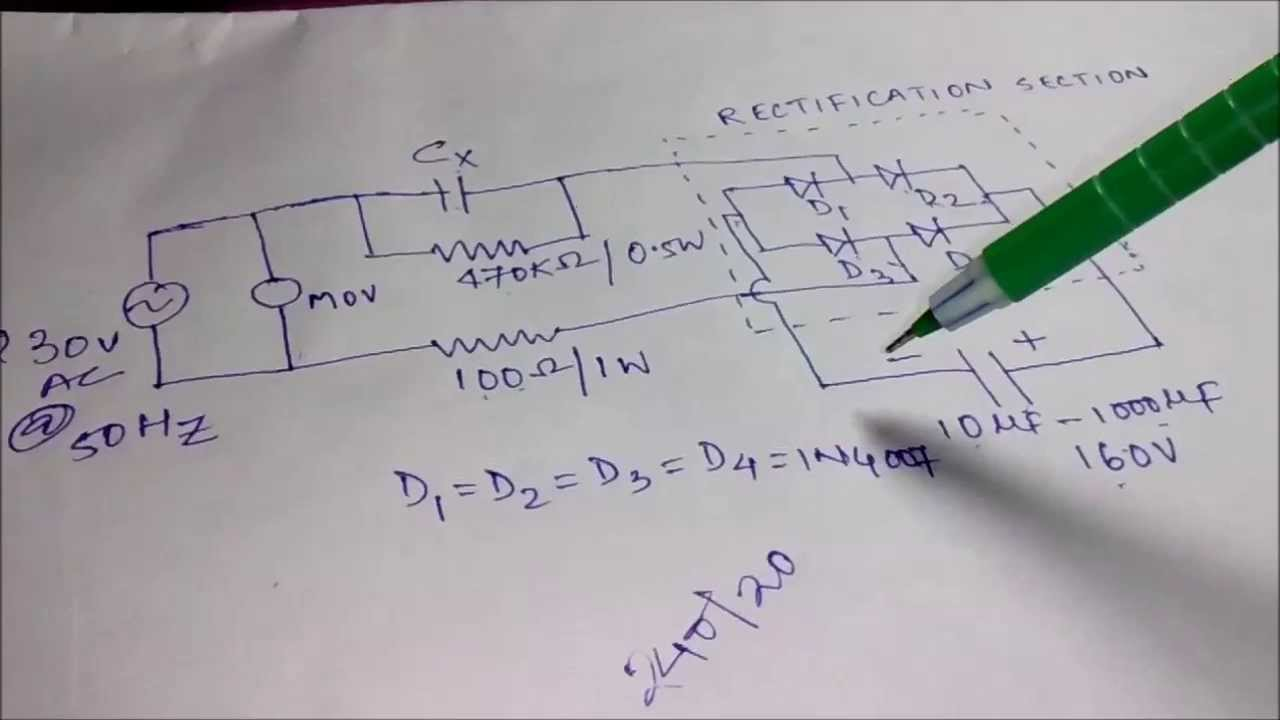 Transformerless Power Supply Explained