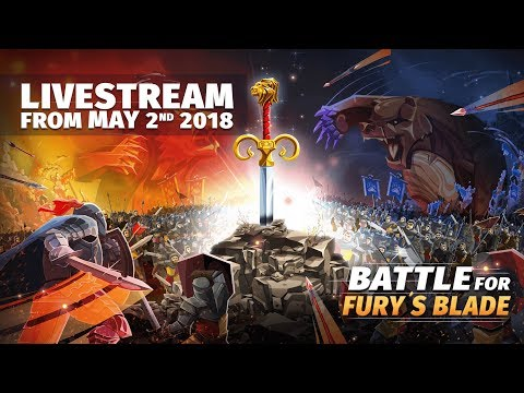 The Battle for Fury's Blade - Calm before the Storm Livestream (02.05.2018)