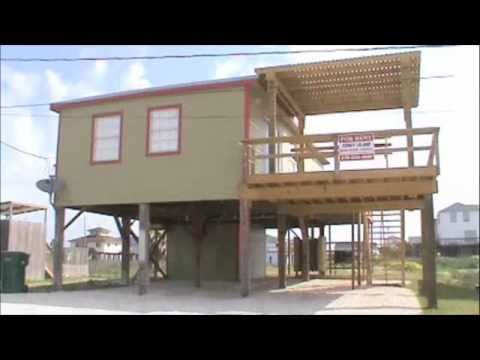 "Beach House for Rent: ""CONEY ISLAND"" Surfside, TX. - YouTube"