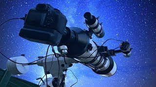 видео Установки телескопов