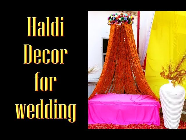 India wedding function decor