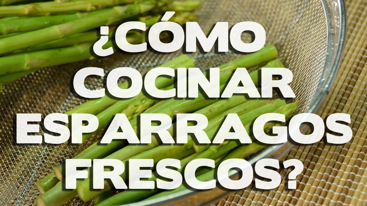 Como cocinar esparragos frescos recetas y preparado for Cocinar esparragos