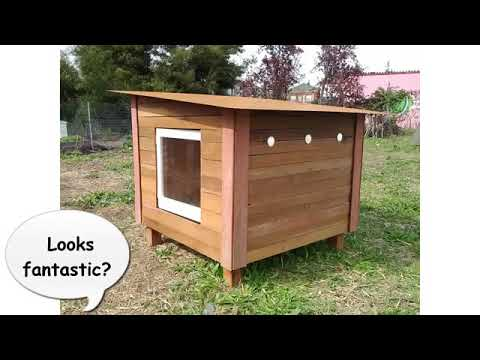 DIY Woodworking Projects Ideas / Chicken Houses