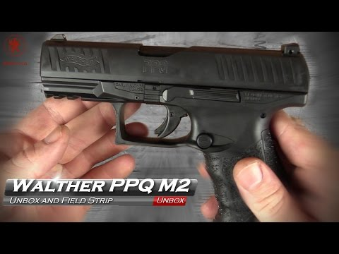 Walther PPQ M2 Unbox and Field Strip