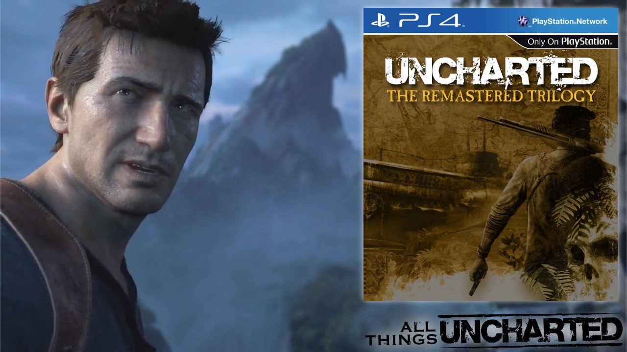 Uncharted 1 2 And 3 For Ps4 Trilogy Remastered Youtube
