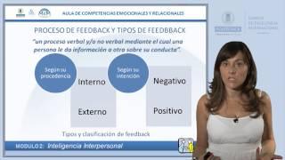 Proceso de Feedback y tipos de Feedback