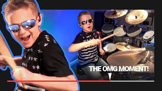"""My Sharona"" Avery Molek, 8 year old Drummer"