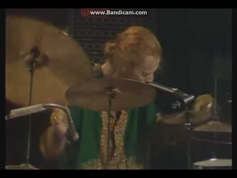 Ginger Baker(Cream) Great drum solo