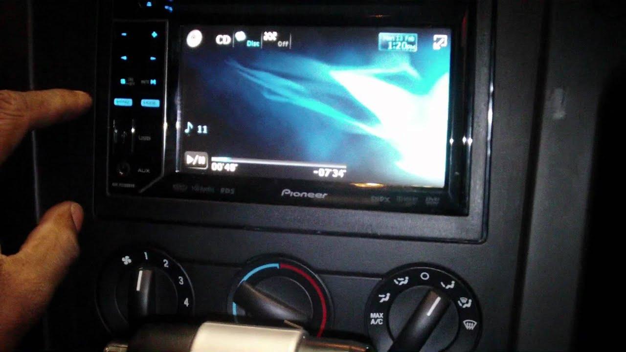 2007 Ford Mustang Radio Installation2