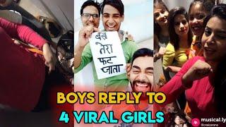 Isme Tera Ghata Mere Kuch Nahi Jata (4 Viral Girls) Musically   Most Viral Trend   Roasting Guru