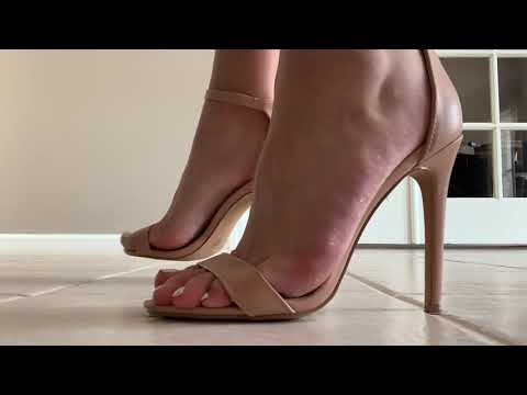 asmr high heels no talking  youtube