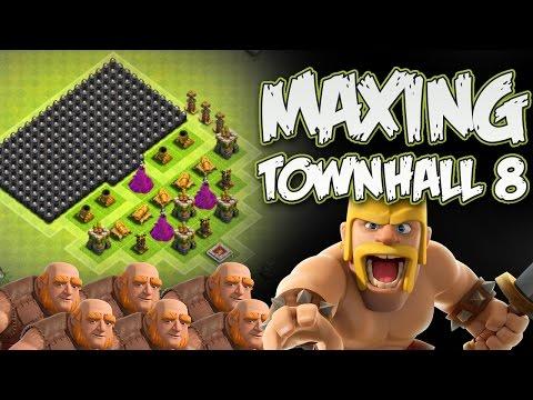 MAX TH8 |  NO MORE WALLS TO UPGRADE