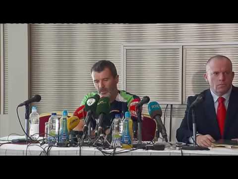 Roy Keane's post match interview after Ireland lose 2-1 to Belarus