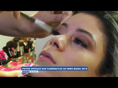 """Band Cidade - """"Fotos oficiais das candidatas ao Miss Bahia 2018"""""""