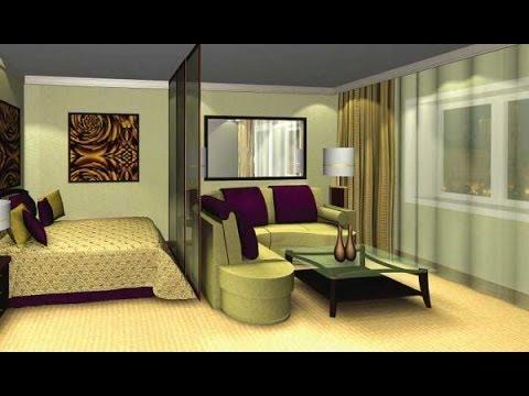 Спальня и гостиная в одной комнате, учимся гениально разделять пространство.