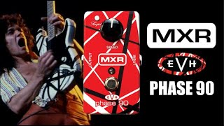 MXR EVH Phase 90! The pedal every Van Halen fan needs!