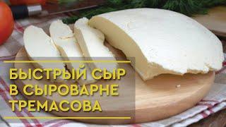 Быстрый домашний Сыр в Сыроварне Тремасова в домашних условиях из молока+ обзор