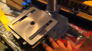 "Harbor Freight 8"" Table/bench Top Drill Press Review"
