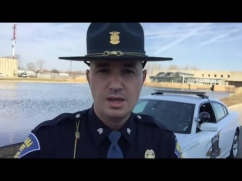 State trooper makes PSA for 'pretty incredible' turn signal