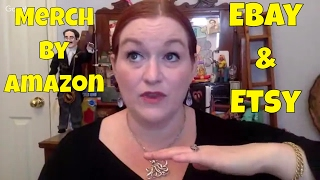 What I Sold on Ebay & Etsy AND Merch by Amazon January 2017 Sales, What Sells on Ebay