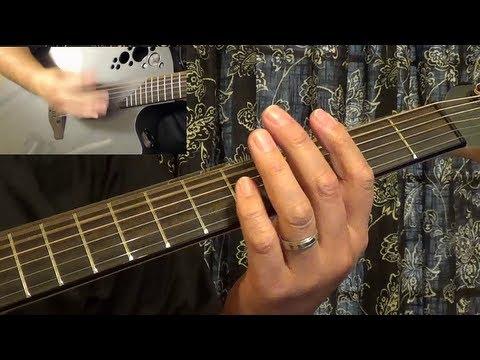 Guitar Tutorial - Angry Eyes - Loggins & Messina