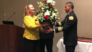 Lt  Lopez Retires after 20 years of service