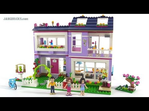 Lego Friends Emmas House Review Set 41095 Youtube