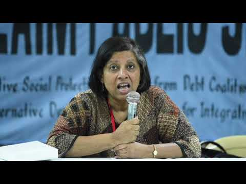 People's Voice 13    Meena Menon   Housing And Rights To The City