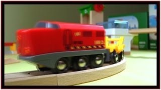 Railway Bridge Toy Trains Construction! Kids Quality Brio Toy Demo Build & Play /สาธิตรถไฟของเล่น