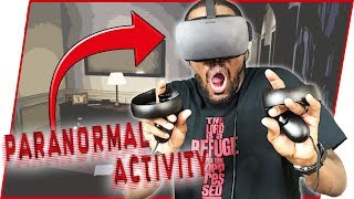 THIS GAME SCARED ME SO BAD I BROKE MY ANKLE! - Paranormal Activity: The Lost Soul Gameplay