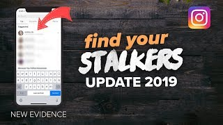 here's how you find your INSTAGRAM STALKERS in 2019 [UPDATE]