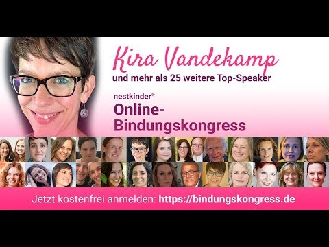 Kiria Vandekamp im nestkinder® Bindungskongress-Interview