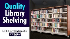 Quality Library Shelving | MJ Library Shelving by Aurora