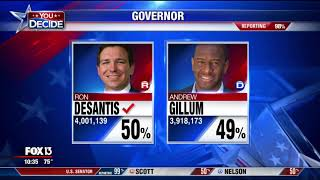 Ron DeSantis wins race for Florida governor