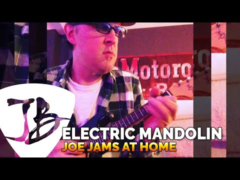 Joe Bonamassa Official - Jamming at Home on an ole electric Mandocaster