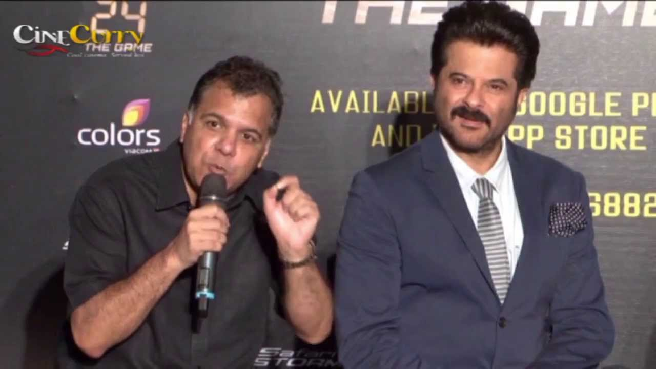 Anil Kapoor Launches 24 The Game