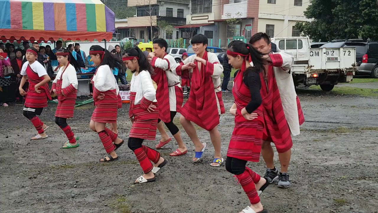 國姓鄉賽德克巴萊族原住民學童舞蹈20170326 - YouTube