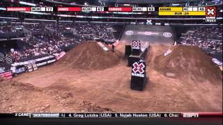 X Games 17: Nate Adams takes Gold in Moto X Freestyle Final