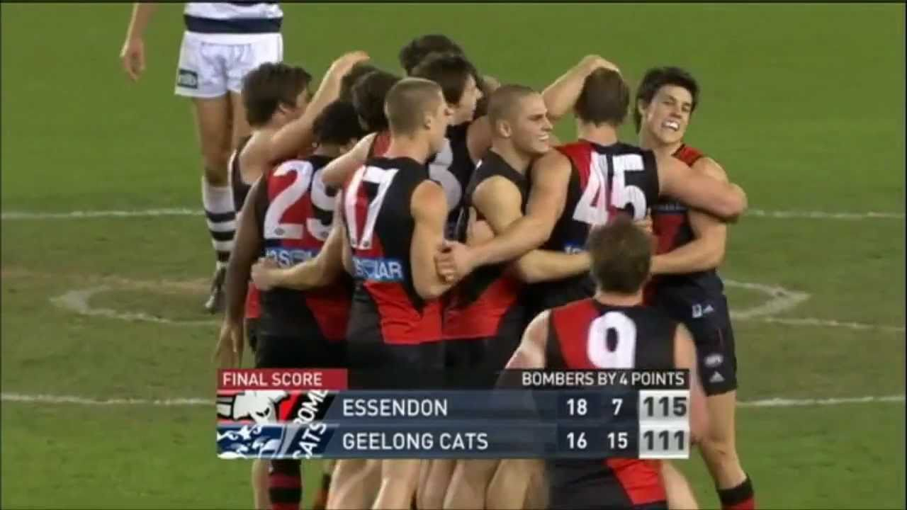 Hd Essendon Vs Geelong Round 15 2011 4th Quarter Extended Highlights Youtube