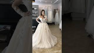 Пышное свадебное платье Примроуз в Новосибирске