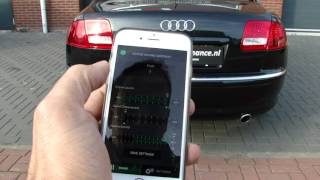 audi a8 4 2 tdi maxi sound generator great v8 exhaust sound by maxiperformance