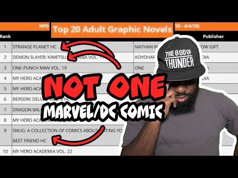 The pathetic state of American Comic Books