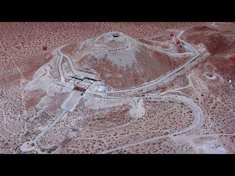 Huge Alien Base Next To U.S. Air Force Base