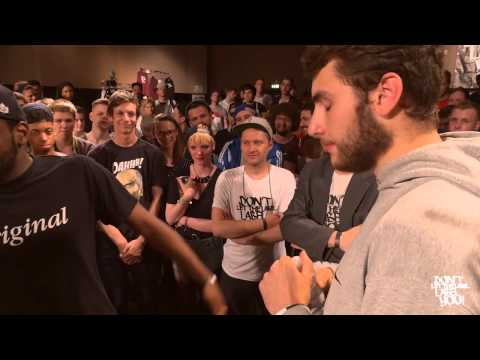 DLTLLY // Rap Battle // Le Nerd VS Davie Jones
