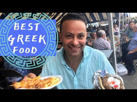 Best GREEK STREET FOOD and Amazing Souvlaki Grill