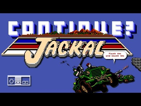 Jackal (NES) - Continue?