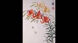 Китайская живопись в СПб.